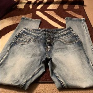 Rue 21 stonewashed jeans